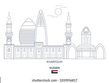 Khartoum Linear City Skyline, Sudan