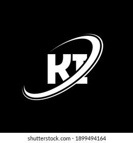 KI K I letter logo design. Initial letter KI linked circle uppercase monogram logo red and blue. KI logo, K I design. ki, k i