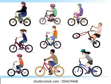 kid bikers. Have fun!