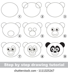 Easy Drawing High Res Stock Images Shutterstock You should practice much for improve your draws. https www shutterstock com image vector kid game develop drawing skill easy 1111325267