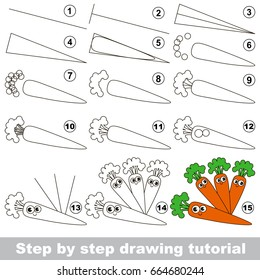 Carrot Simple Drawing Images Stock Photos Vectors Shutterstock