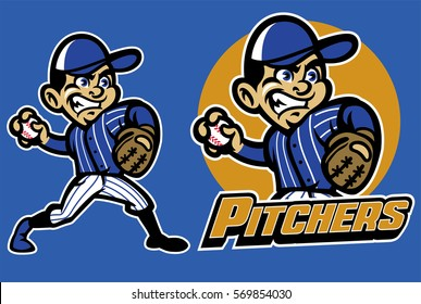 kid playing baseball as a pitcher