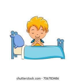 Bedtime Prayer Stock Vectors, Images & Vector Art | Shutterstock