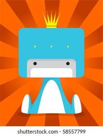 kid prince robot