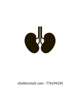 kidneys icon. sign design