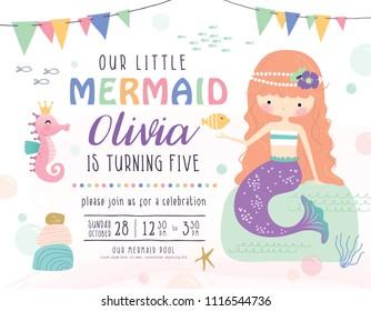 Ilustraciones Imágenes Y Vectores De Stock Sobre Mermaid