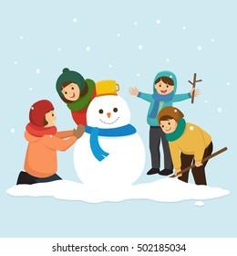 making-snowman-clipart clipart - making-snowman-clipart clip art   Snowman  clipart, Free clip art, Clip art