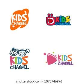 Kids Channel Logo Design