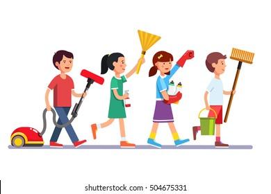 Chores Images, Stock Photos & Vectors   Shutterstock