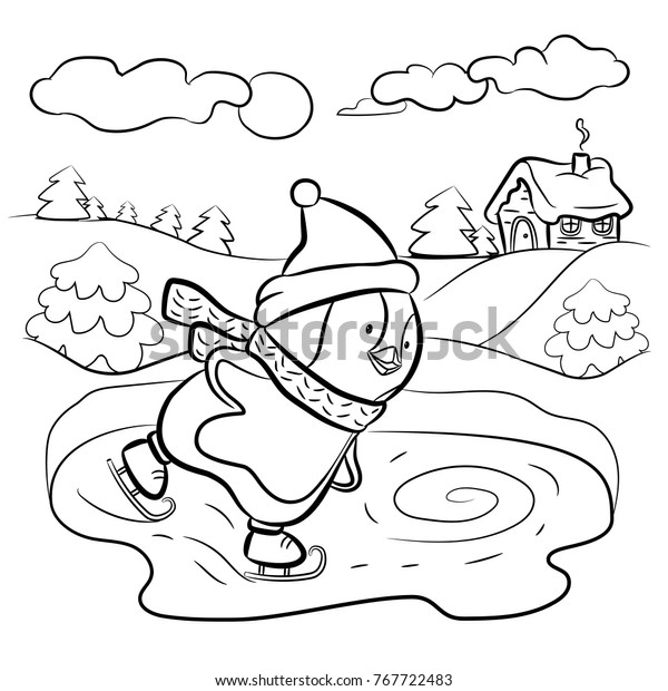 Ice Skating Coloring Pages Ice Skating Performance Coloring Page Free  Printable Coloring Pages - birijus.com | 620x600
