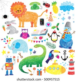 kids doodle set