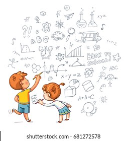 Boy Drawing Images Stock Photos Vectors Shutterstock
