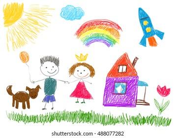 Kids drawings.