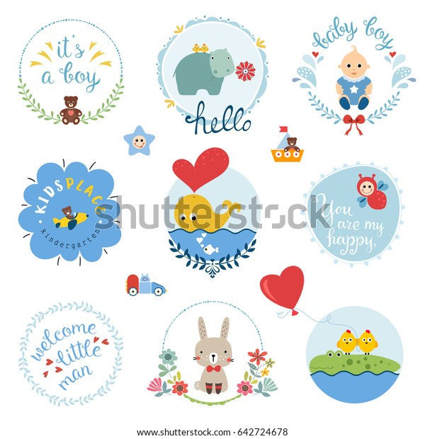 Brand New Design A Baby Boy Whimsicals Cards
