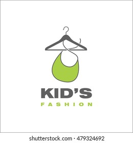 Kid's fashion template for logo