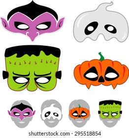 Halloween Masks For Kids.Halloween Mask Images Stock Photos Vectors Shutterstock