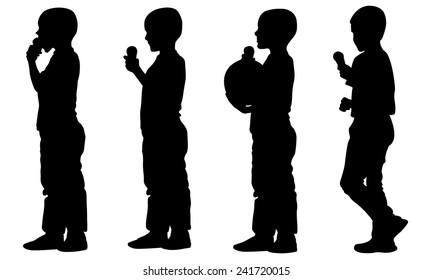 kids with ice-cream