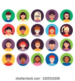 Kids icons set