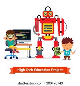 Robots Kids Images Stock Photos Vectors Shutterstock