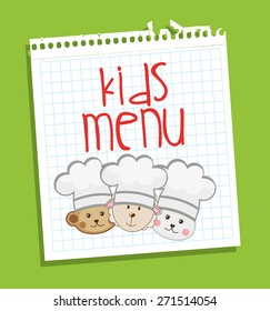 kids menu template stock illustrations images vectors shutterstock