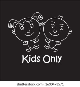 Kids Only logo or Icon For Kids