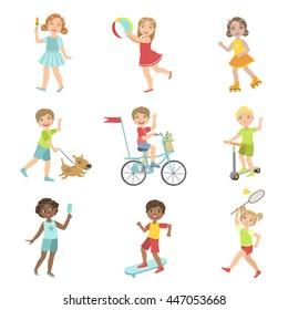Kids Outdoor Activities Set