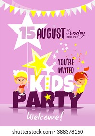 kids party invitation images stock photos vectors shutterstock
