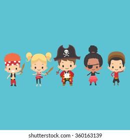 Kids Pirate Attire