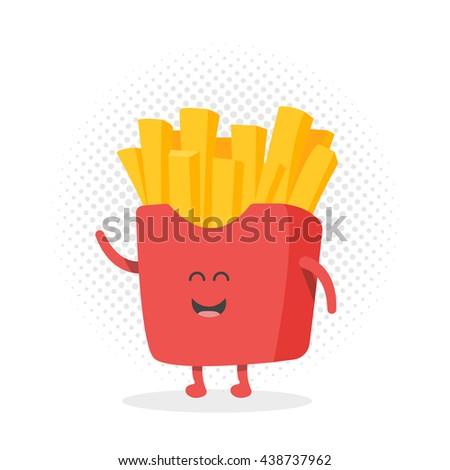 Kids Restaurant Menu Cardboard Character Template Stock Vektorgrafik