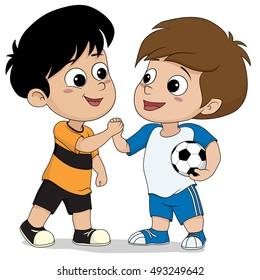 Shake Hand Cartoon Images, Stock Photos & Vectors ...