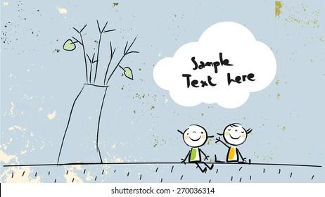 Friendship Tree Images Stock Photos Vectors Shutterstock