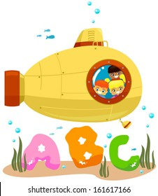 Kids Submarine ABC