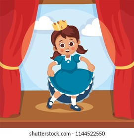 Stage Play Actress Stock Vectors, Images & Vector Art ...