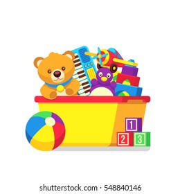toy box images stock photos vectors shutterstock rh shutterstock com empty toy box clipart empty toy box clipart