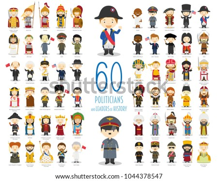 Kids Vector Characters Collection