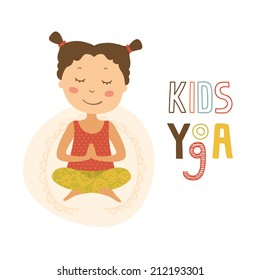 Kids Yoga, Logo Yoga Club
