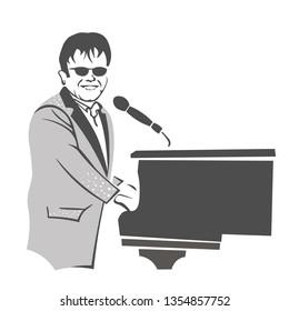 Kiev, Ukraine, 2012, Elton John concert