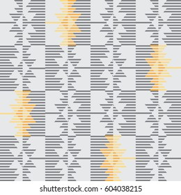 Kilim inspired print pattern - vector design - eps 10