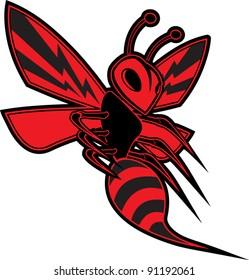 Killer Bee Vector