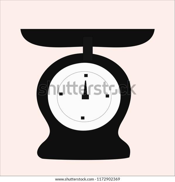 Kilogram Vector Icon Stock Vector (Royalty Free) 1172902369
