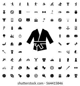 kimono icon illustration isolated vector sign symbol