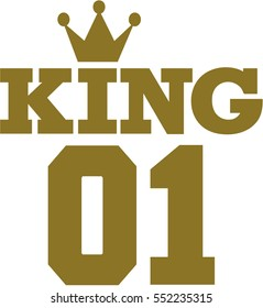 King 01 with crown