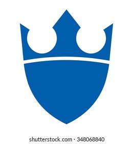 king crown logo vector.