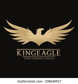 King Eagle Logo Template