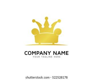 King Furniture Logo Design Template