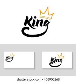 """King"" logo template"