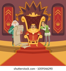 King Crown Draw Stock Illustrations Images Vectors