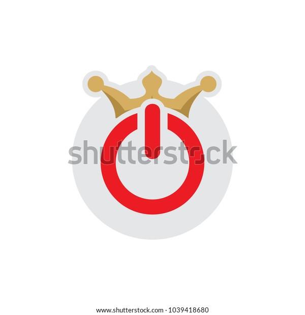 King Power Logo Icon Design