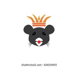King / Queen Rat Logo