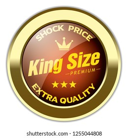 King Size Badge